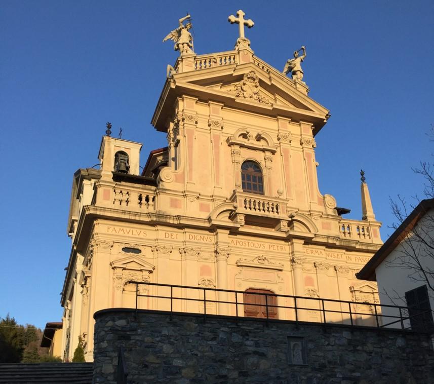 Kościół w Brunate