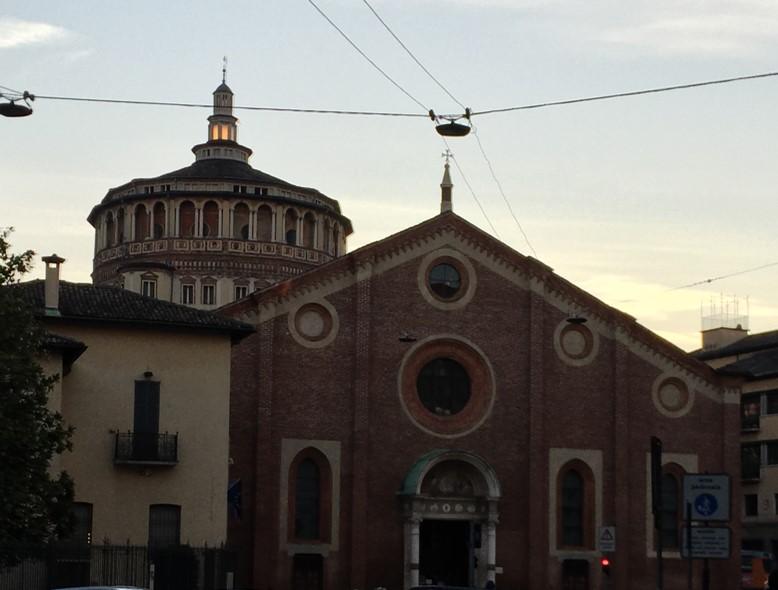 klasztor przy Piazza Santa Maria delle Grazie