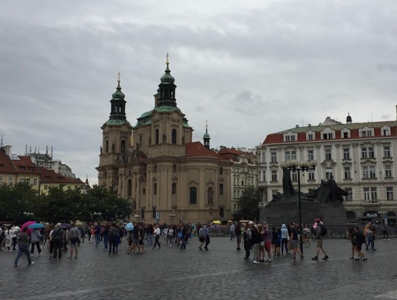 Rynek Staromiejski - Kościół św. Mikołaja