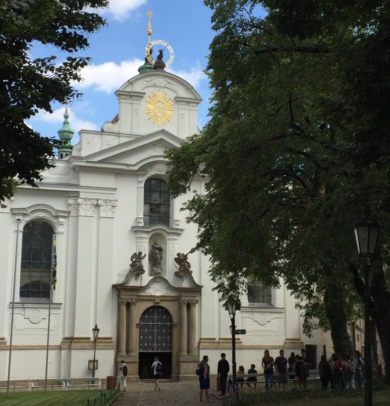 klasztor na Strachowie