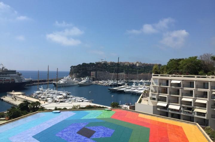 panorama widziana z tarasu widokowego Monte Carlo