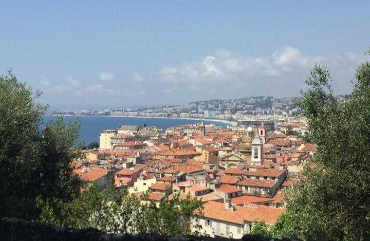 panorama miasta widziana ze Wzgórza Zamkowego