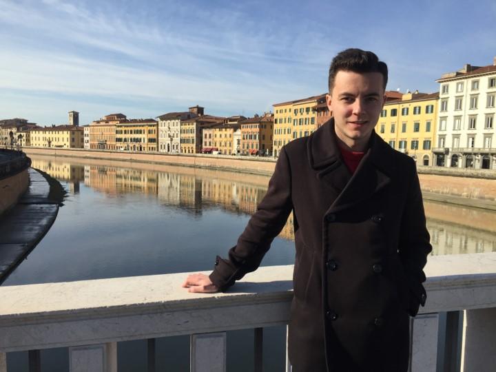 Piza, rzeka Arno