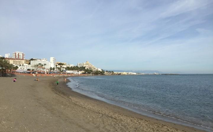 plaża Benalmádena Costa