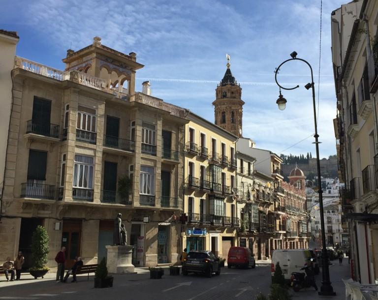 centrum historyczne Antequery