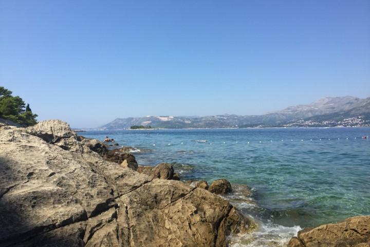 Cavtat - wybrzeże