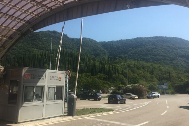 granica chorwacko-czarnogórska