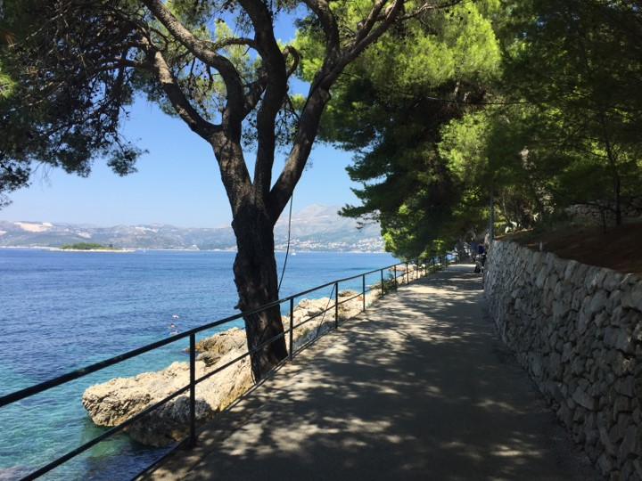 Cavtat - nadmorska promenada