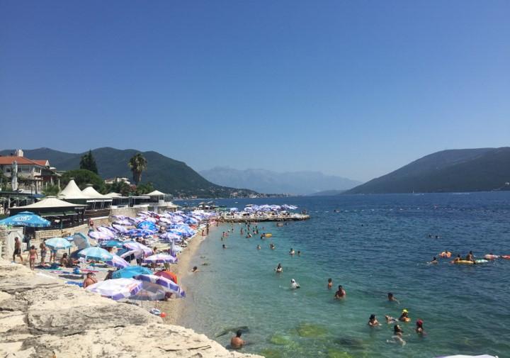 Herceg Novi - plaża