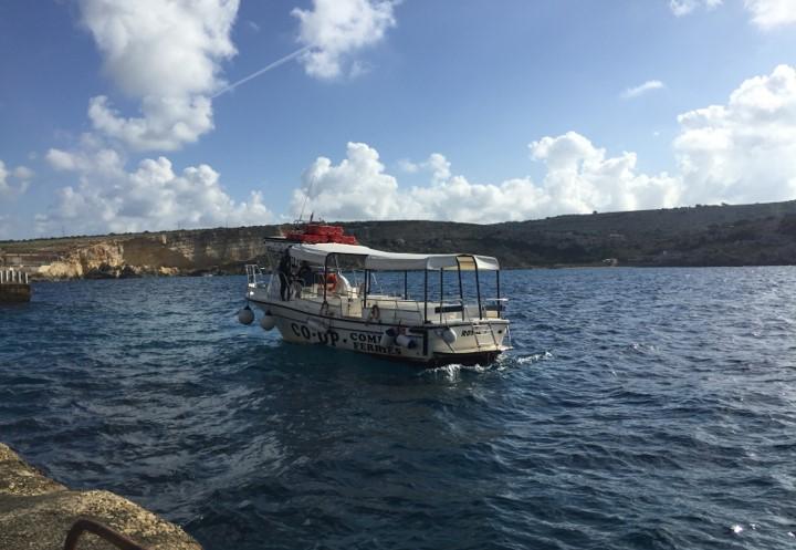 rejs na wyspę Comino