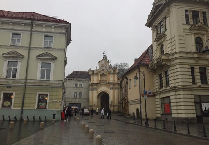 brama Klasztoru Bazylianów