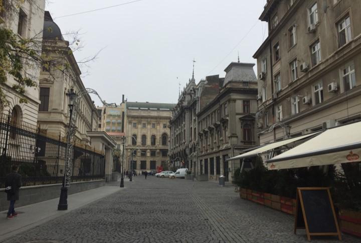 centrum historyczne Bukaresztu