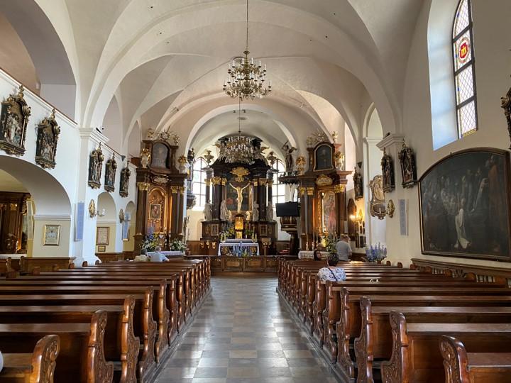 kościół klasztorny pw. św. Anny