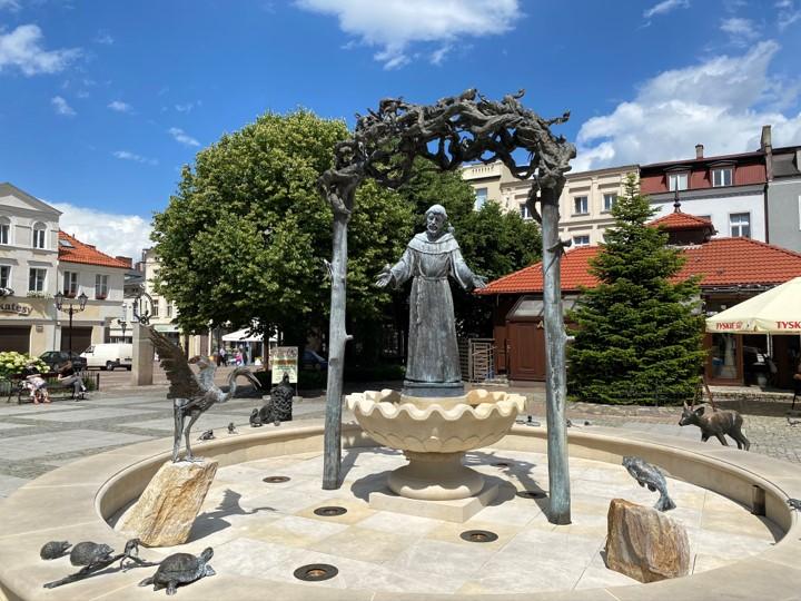fontanna św. Franciszka