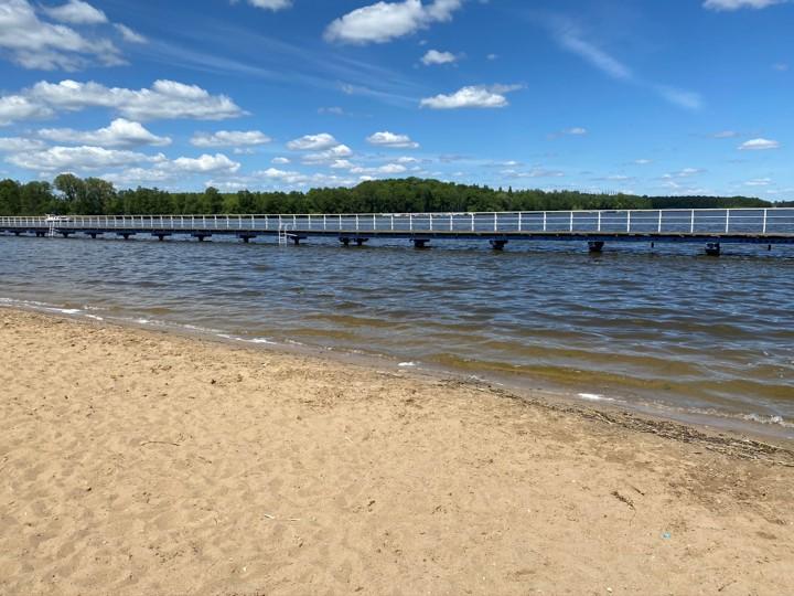 Iława plaża