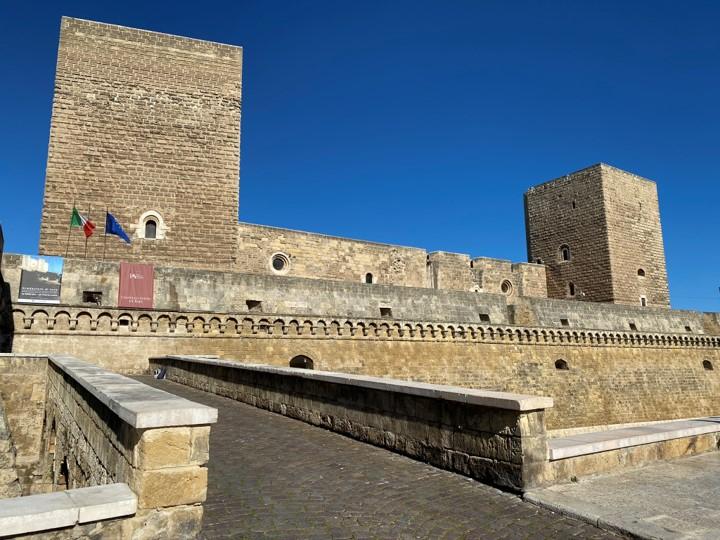 Bari - zamek Svevo