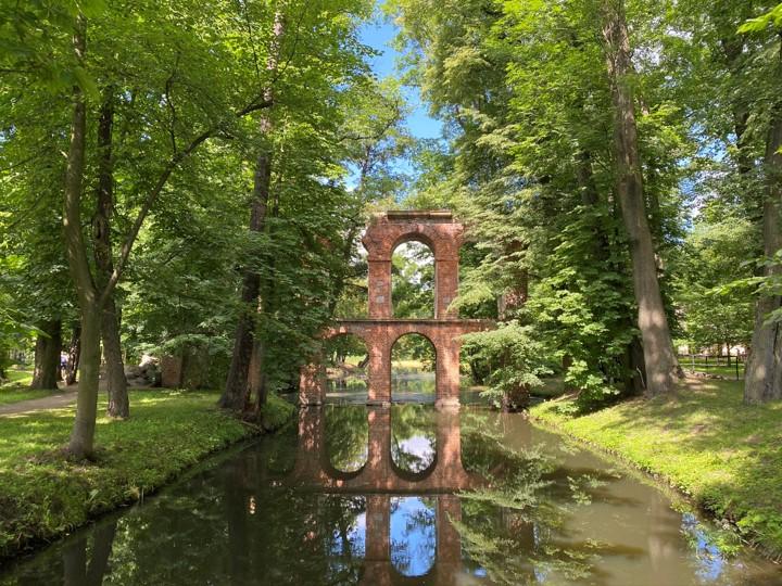 Park Romantyczny w Arkadii - Akwedukt