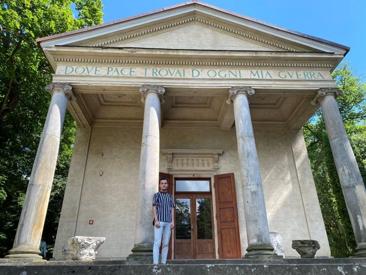 Park Romantyczny w Arkadii - Świątynia Diany