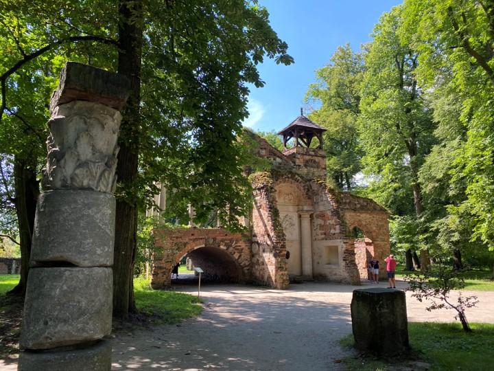 Park Romantyczny w Arkadii - Przybytek Arcykapłana