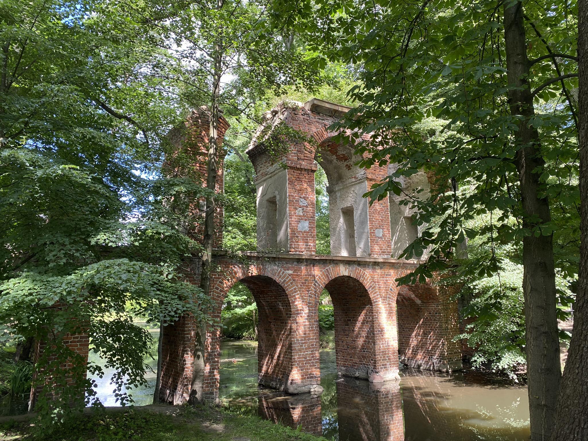 Park Romantyczny w Arkadii