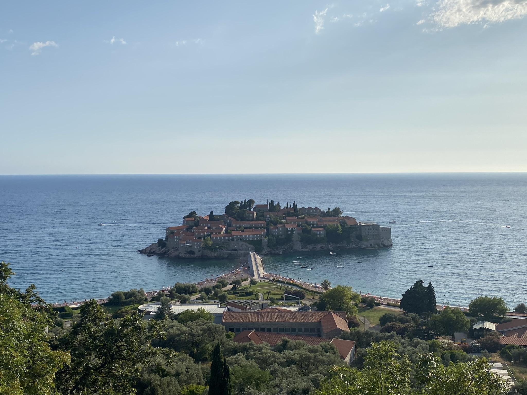 Wyspa Sveti Stefan