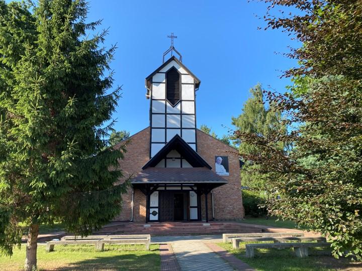 kościół w Kątach Rybackich